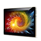 Padgene 10.1'' Android 8.0 Oreo Tablet PC Quad Core Phablet con 2GB RAM 32GB ROM Ranuras para Tarjetas Dual Sim 3G 1280 * 800 con WiFi Bluetooth GPS Netflix Google Play
