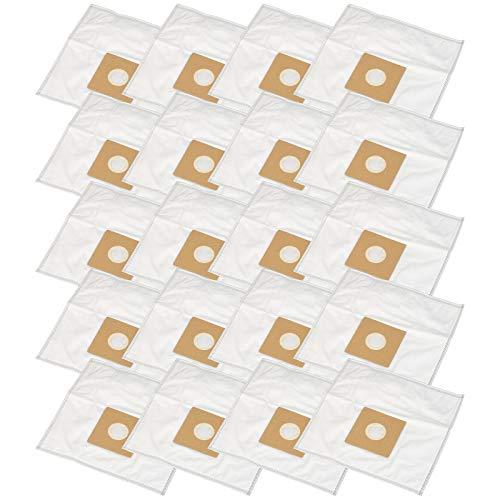 Bolsas de aspiradora adecuadas para Philips T 400, T 800, TC 400 hasta 999 Oslo Flüsterjet, TC 738 Golden Magic 1400, TC Exclusive 20 bolsas de basura