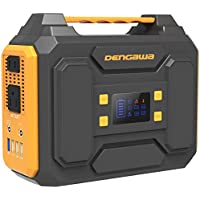 DenGaWa Portable 250Wh Lithium Battery Power Station with 110V/250W Pure Sine Wave AC Output