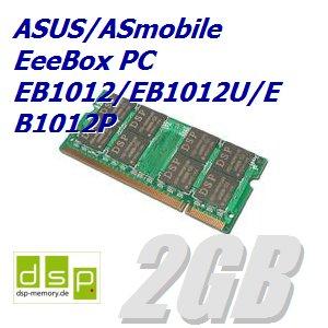DSP Memory 2GB Speicher/RAM für ASUS/ASmobile EeeBox PC EB1012/EB1012U/EB1012P