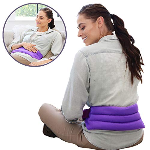 My Heating Pad for Cramps and Lower Back Pain Relief with Full Body Strap |...