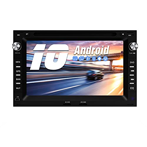 AWESAFE Android 10.0 2GB+32GB Radio Coche para Volkswagen, A