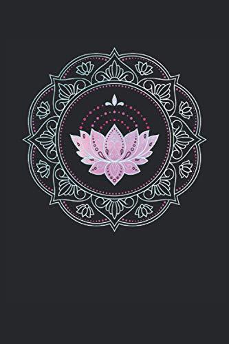 Computadora portátil: Lotus Flower Cuaderno - Gran cuaderno de loto forrado - 120 páginas alineadas para pensar pensamientos, ideas y deseos  Dina5 ... Navidad. Más que una tarjeta de cumpleaños.