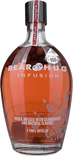 Bear Hug Infusion Vodka di Mirtillo Rosso - 1 L