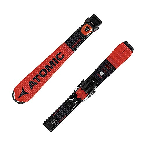 ATOMIC Kinder REDSTER J2 130-150 + L 6 GW Race Carver rot 140