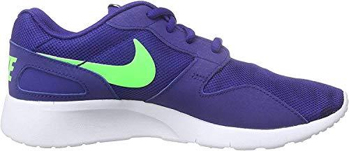 Nike Kaishi (Gs), Baskets Basses Mixte Enfant, Bleu (Deep Royal Blue / Green Strike), 36 EU