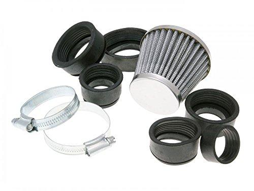 Luchtfilter Powerfilter 28-50 mm chroom