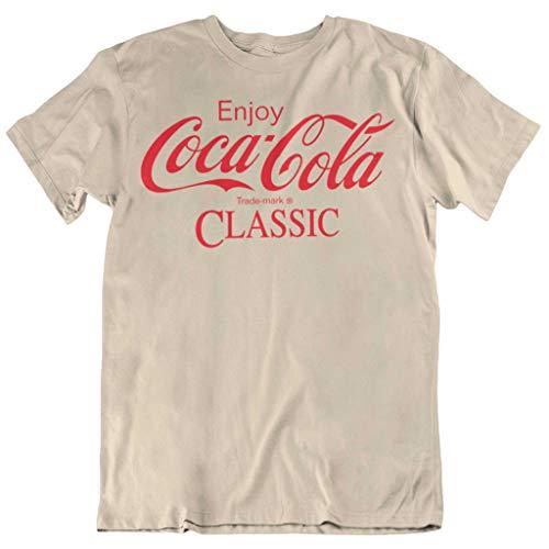 Coca Cola Enjoy Classic Print Sand Camiseta