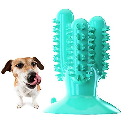 2Dog Spielzeug Kauzahnbürste, Hundezahnreinigungsspielzeug, Naturkautschuk Mundschutz Reinigungsstab, geeignet für mittlere und große Hunde, Hundespielzeug Kauzahnbürste