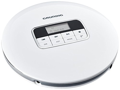 Grundig GCDP 8000 GDR1400 Lettore CD portatile Bianco