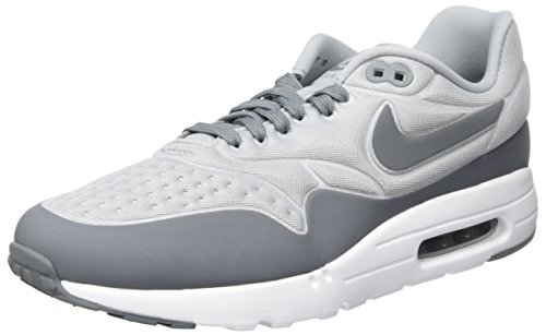 Nike Air Max 1 Ultra SE Scarpe da Ginnastica Uomo, Grigio (Wolf Cool Grey-White), 40 EU
