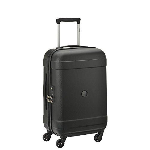 DELSEY Paris INDISCRETE Hard Suitcase, 66 cm, 64 liters, Black (Noir)
