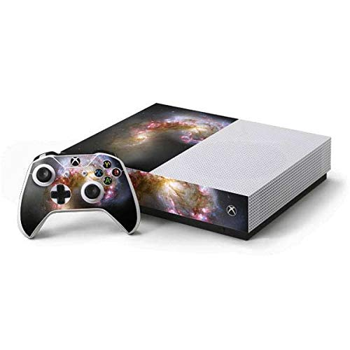 Skinit Decal Gaming Skin Compatible with Xbox One S All-Digital Edition Bundle - Originally Designed The Antennae Galaxies Design