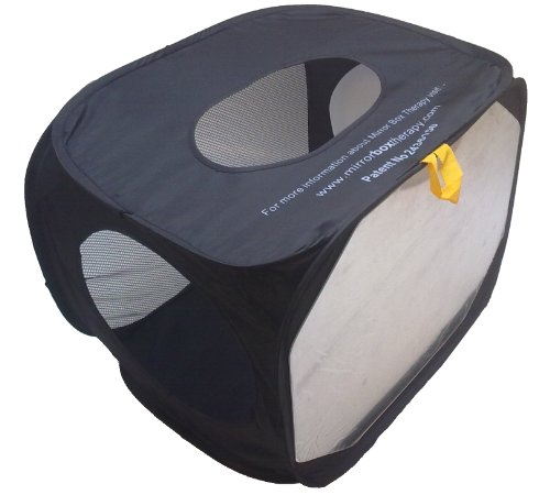 Folding Mirror Therapy Box (Arm/Foot/Ankle) by Reflex Pain Management Ltd