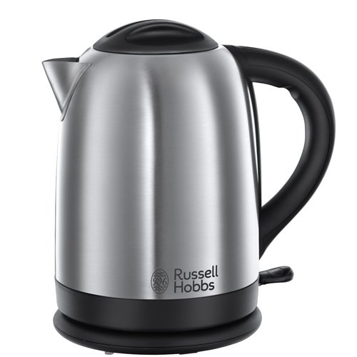 Russell Hobbs Oxford Kettle, 1.7 L, 2400 W - Stainless Steel Silver