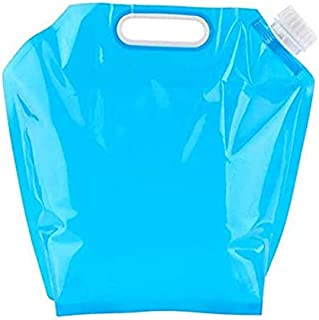 GulfDealz Portable BPA Free Outdoor Collapsible Foldable Water Bag Perfect For Car Emergencies,Natural Disasters Earthquak...