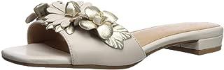 Aerosoles Womens PIN Down Leather Open Toe Casual Mule, Bone Combo, Size 7.5