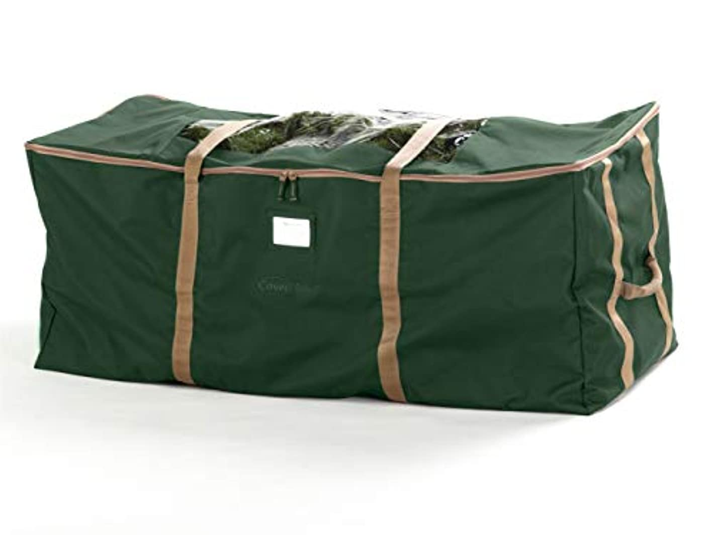 Covermates – Holiday Tree Storage Bag – Fits up to 7.5 Foot Tree – 3 Year Warranty - Green