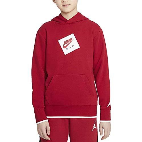 Nike Jordan JDB Jumpman French Terry PO Hoodie Gym Red M