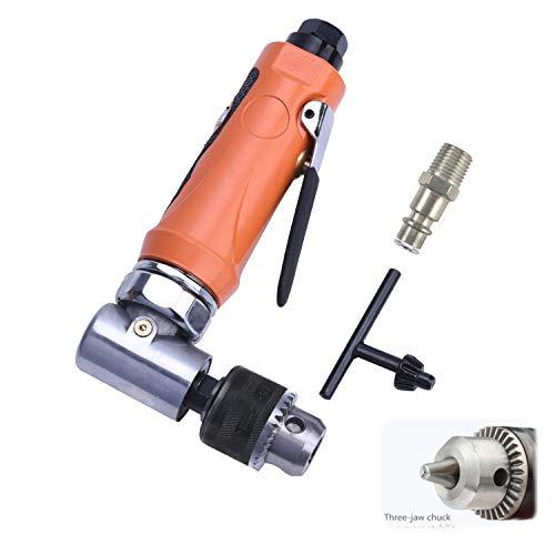 Druckluft Winkelbohrmaschine 0.6-6 mm(1/4