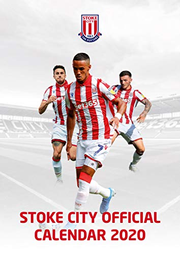Stoke City FC 2020 Calendar - Official A3 Month to View Wall Calendar