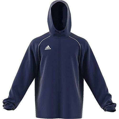 adidas Men's CORE18 RN JKT Sport Jacket, Dark Blue/White, S