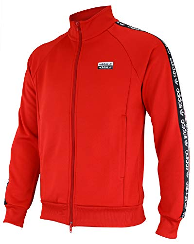 Adidas Mens R.Y.V. Red Track Top Size M