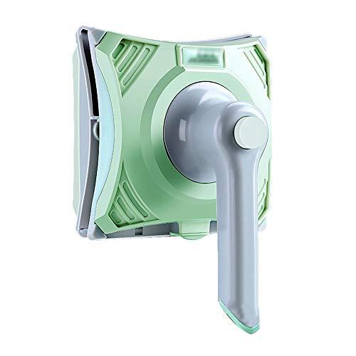 S-t-x Doppelseitiger Magnetischer Fensterputzer Mit Griff, Verstellbarer Magnetischer 5-26mm Magnetischer Fensterreinigungsbürste, 2,5m Anti-Drop-Seil/Kratz-Synchronisation, Manuelle Ausführung
