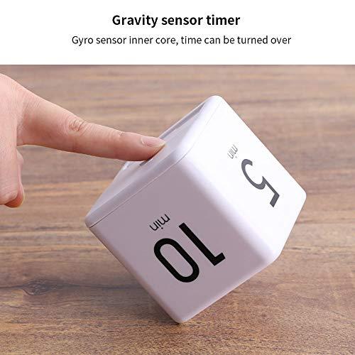 YChoice365 Temporizador de Cocina,Cube Digital Timer, Timer Alarm Clock, Gestión del Tiempo