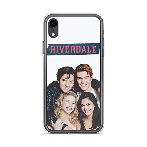Diskoer Compatible with iPhone X/XS Case Riverdale Archie Comics Jughead Betty Camila Pure Clear Phone Cases Cover
