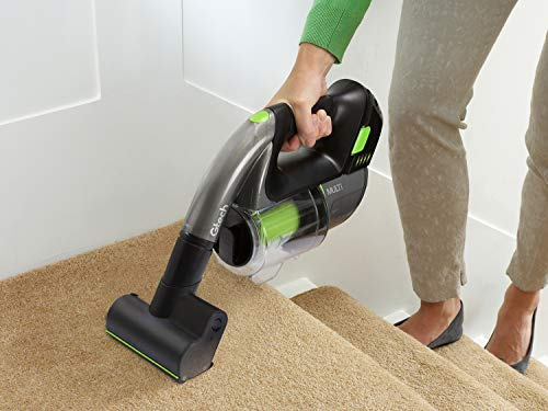 Gtech Multi MK2 Handheld Vacuum Cleaner, 22 V, Grey/Green/Black