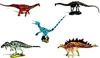 UHA味覚糖 恐竜博2002限定 チョコラザウルス 5個セットボックス