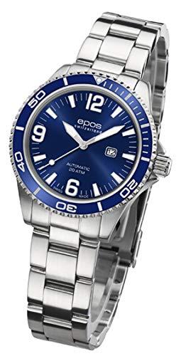 EPOS 411028 - Orologio da polso da donna, analogico, automatico, cinturino...