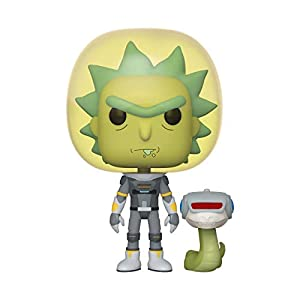 Funko Pop Rick con traje espacial y serpiente (Rick & Morty 689) Funko Pop Rick & Morty