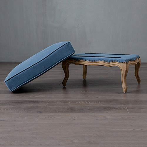 YIZ Modern Meubels Europa en de Verenigde Staten Franse Landelijke Wind Vlas Zachte Sofa Twee Set Voet voor Schoenen Sofa Kruk Enkele Sofa 7