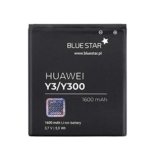 Blue Star 33067 Premium - Batteria da 1600 mAh Li-Ion de Capacità Carica Veloce 2.0 Compatibile Con il Huawei Y3 / Y300 / Y360 / Y500 / Y511 / W1