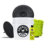 Chemical Guys Ultimate Scratch-Free Detailing Bucket And Accessories Car Wash Kit