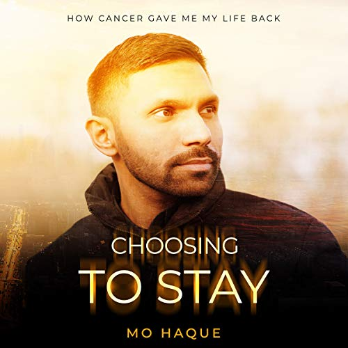 Choosing to Stay audiobook cover art