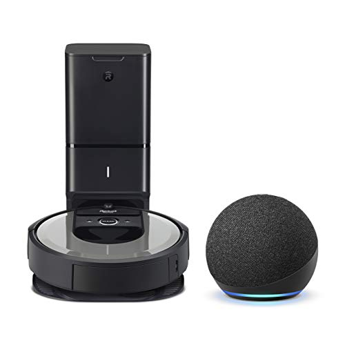 iRobot Roomba i6+ (6550) Robot Vacuum - Automatic Dirt Disposal, Wi-Fi,...