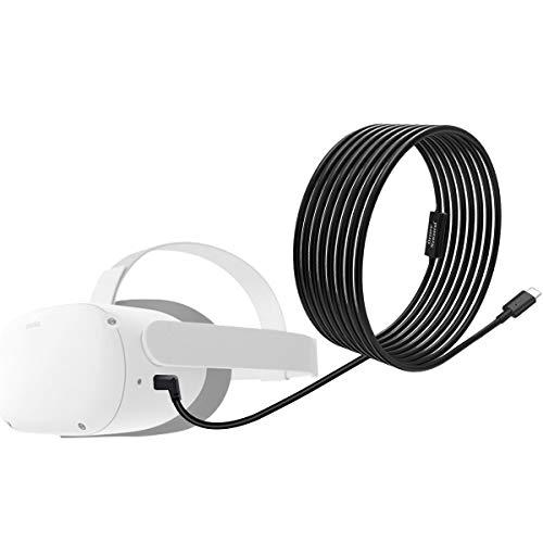 NEWZEROL Total 6M / 20Ft Tipo C Cable de Datos Estable Compatible para