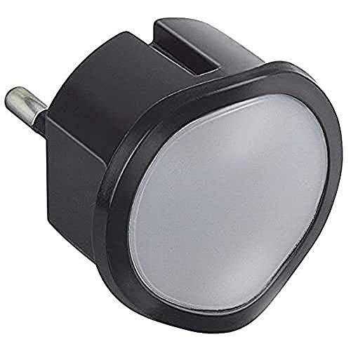 Legrand, 050677 Be Range - Quita miedos bebe/niños, luz de noche LED de color negro, iluminación infantil nocturna regulable con función automática o manual