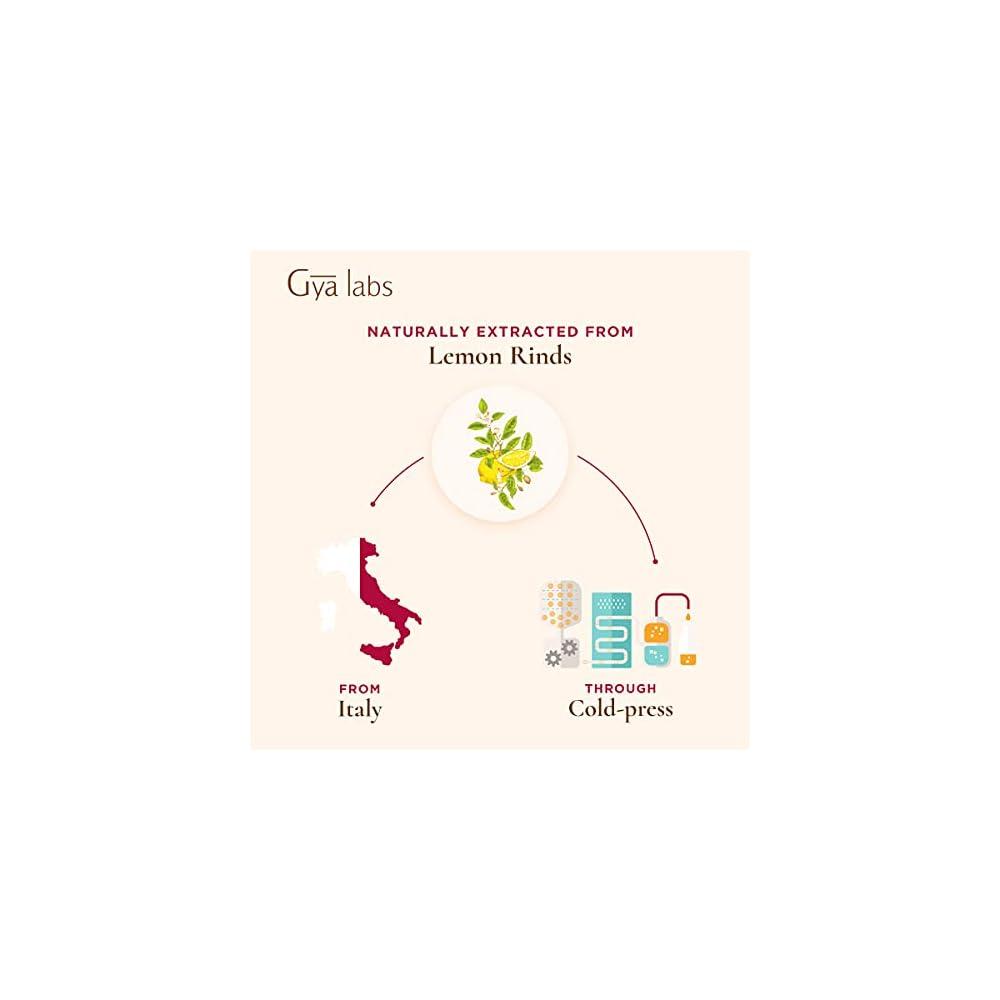 Gya Labs Therisches Zitronenl Fr Die Hautpflege Natrliches Zitronenl Zur Stimmungsaufhellung 100 Therapeutische Therische Zitronenle Fr Die Aromatherapie 10ml