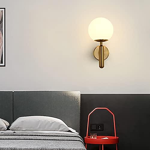 Dormitorio Sencillo Lámpara De Pared De La Cabecera Moderna Sala De Estar Lámpara De Pared Lámpara De Pared Lámpara Lámpara Lámpara De Escalera (Oro, Negro)(Color:Dorado)