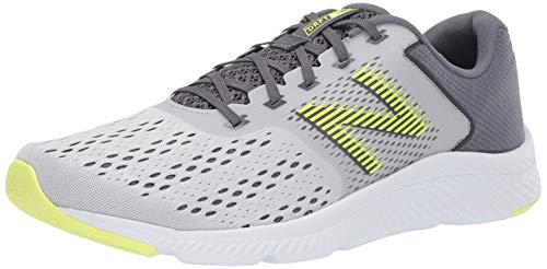 New Balance Men's DRFT V1 Running Shoe, Light Aluminum/Lead, 12 M US
