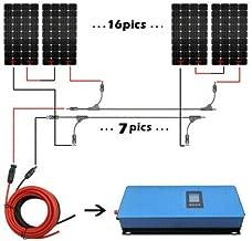 ECO LLC 2000W Home Grid Tie Solar System Kit 20pcs 100W Mono Solar Panels & 2000W Grid-tie Inverter