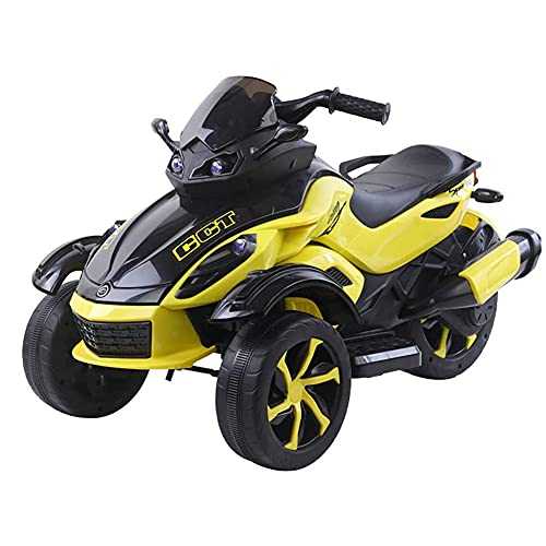 Tastak Kids Ride On Motorcycle, 6 V, Batería De 3 Ruedas, Juguete De Motocicleta para Niños Y Niñas, Paseo Eléctrico En Motocicleta con Luces Delanteras, Música, Pedal
