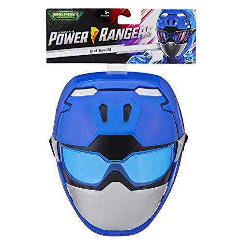 Power Rangers Beast Morphers Blauer Ranger, Maske für Rollenspiele