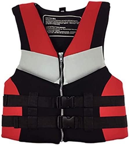 YZJL Chaquetas y Chalecos salvavidasChaleco Salvavidas para natación para Adultos, Chaqueta para navegar en Kayak, Chaleco, Chaqueta de Rescate, Bolsillos, Chaleco Salvavidas para Pesca