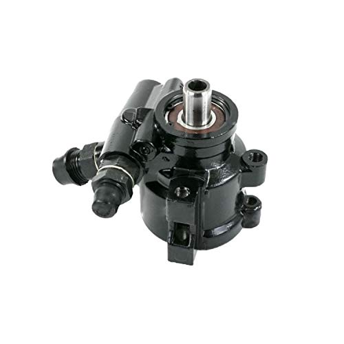 A-Team Performance Saginaw TC Series Power Steering Pump Compatible with SBC Chevy 376 427 GM Type II Black