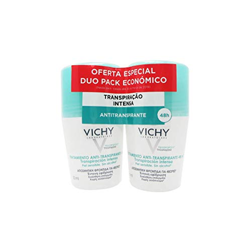 Vichy Deo Roll On Intense Sweating 2x50ml